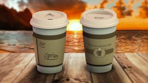 Coffee Cup Mock-up by thislooksgreat