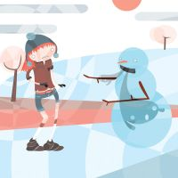 The Snowman by al3map2