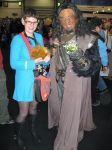 Me and a Klingon holding Tribble's (London 2014) by Albme94