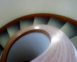 curved stairs by electricjonny