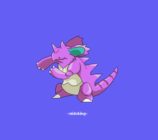Nidoking 034 by juenavei