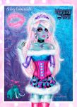 Monster High - Abbey Bominable by kharis-art