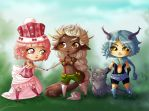 Adopted babies by Sonten