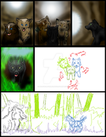 FS comic page one WIP by DeadWolfGirl93