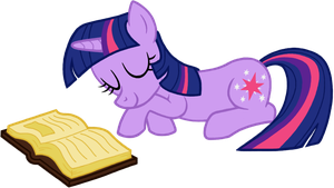 Twilight Sparkle Sleeping by MysteriousBrony