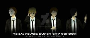 Team  Pewds Super Cry Condor! by ziqman