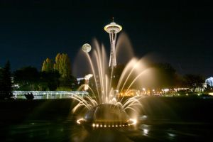Moon Needle Fountain by surrealswirls