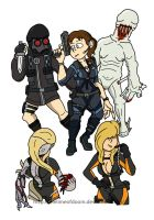 Resident evil Revelations by thelimeofdoom
