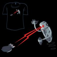 Woot Shirt - Decobot of Death by fablefire