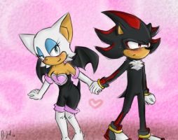 Request: Shadow x Rouge by Ultipoter