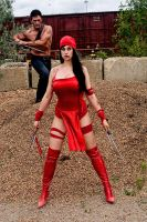Elektra Cosplay 1 by Meagan-Marie