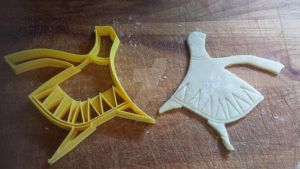 Journey Cookie Cutter (Version 2) 02 by B2Squared