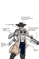 Weird West Punisher by scholarwarrior-lad