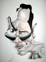 The Rock caricature by Steveroberts