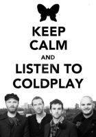 KEEP CALM and LISTEN TO CP by SantiagoSoul