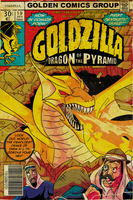 Goldzilla issue 1 by MichaelJLarson
