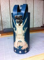 Commissioned Leather Bottle Carrier by SonsOfPlunderLeather
