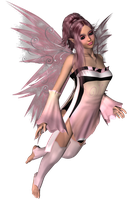 Pink Fairy 01 by DarklingStock