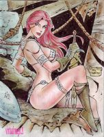 RED SONJA by RODEL MARTIN (07032013) by rodelsm21