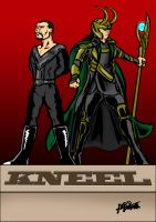Zod and Loki by MarcusSmiter