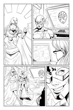 The Flash: page 6 by Shono