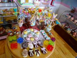 Easter miniature treats by LittlestSweetShop