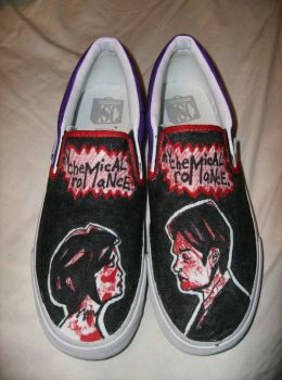 Revenge shoes by MCR-ROX-MY-SOX