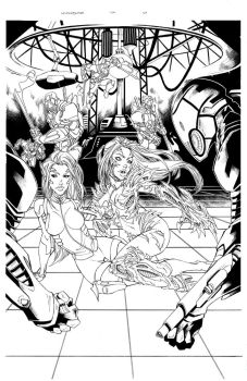 Witchblade 134 Page 21 Ink by Patrick-Hennings