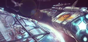 My Little StarCitizen: Solar Empire by FoxInShadow