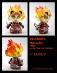 Chandra Nalaar custom Munny figure by FlyingSciurus