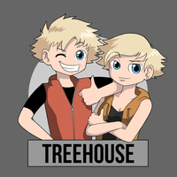 Treehouse: Meet the twins by AtokNiiro