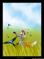 freedom for the swallow by Foxxie-Angel
