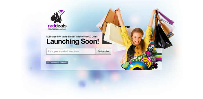 Launching Soon Landing Page 2 by View9