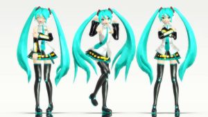 The perfection of DT Miku by InspirationWave
