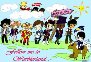 Follow me to Warblerland by kawaiisweetie-chan