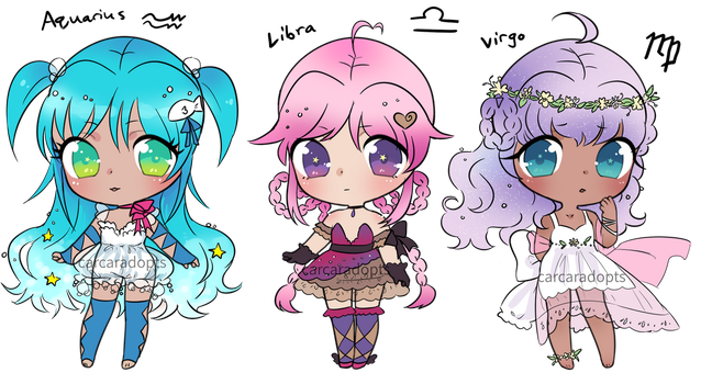 zodiac magical girls 2 CLOSED by carcaradopts