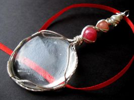 """Love Magnified"" pendant by cRavE-12"
