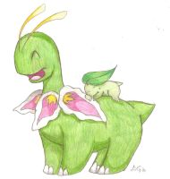 Commish: Mama and Baby by Leafy--Greens