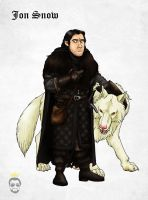 Jon Snow by Felipenn