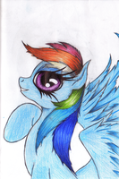 Rainbow Dash by Althyra-Nex