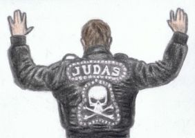 Judas hands up by gagambo