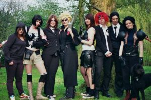 Shinra Hq Holland gang by MerwillaCosplay