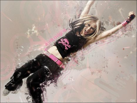 Avril Lavigne Wallpaper by renatavianna