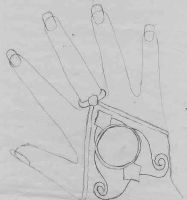Magic Knight: Glove Thingy by ToonQueen