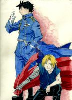FMA: ROY and ED by margarita053
