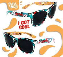 I Got Soul Sunglasses by Bobsmade