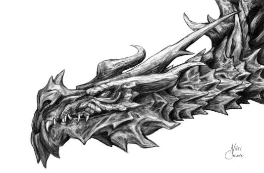 Alduin the World-Eater by NixxiCal