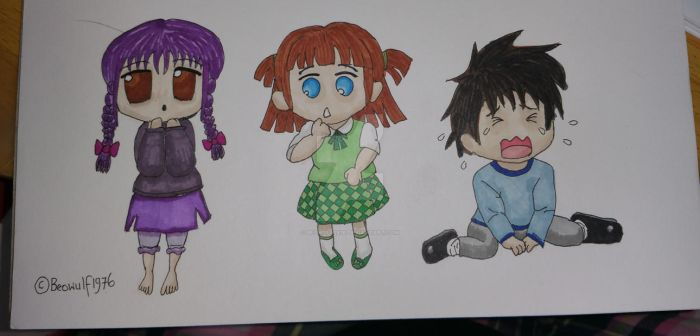 My Chibis by Beowulf1976