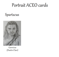 For Sale: ACEO Card Portraits 9.1.13 by LadyNin-Chan