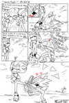 Shadow an sonic, comic o.o by shaloneSK